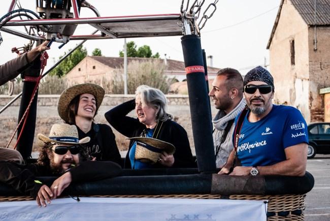 Bloggers, empresarios y miembros del Patronato de Turismo de Granada