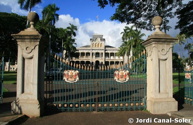 Palacio Real de 'Iolani en Honolulu, Hawái