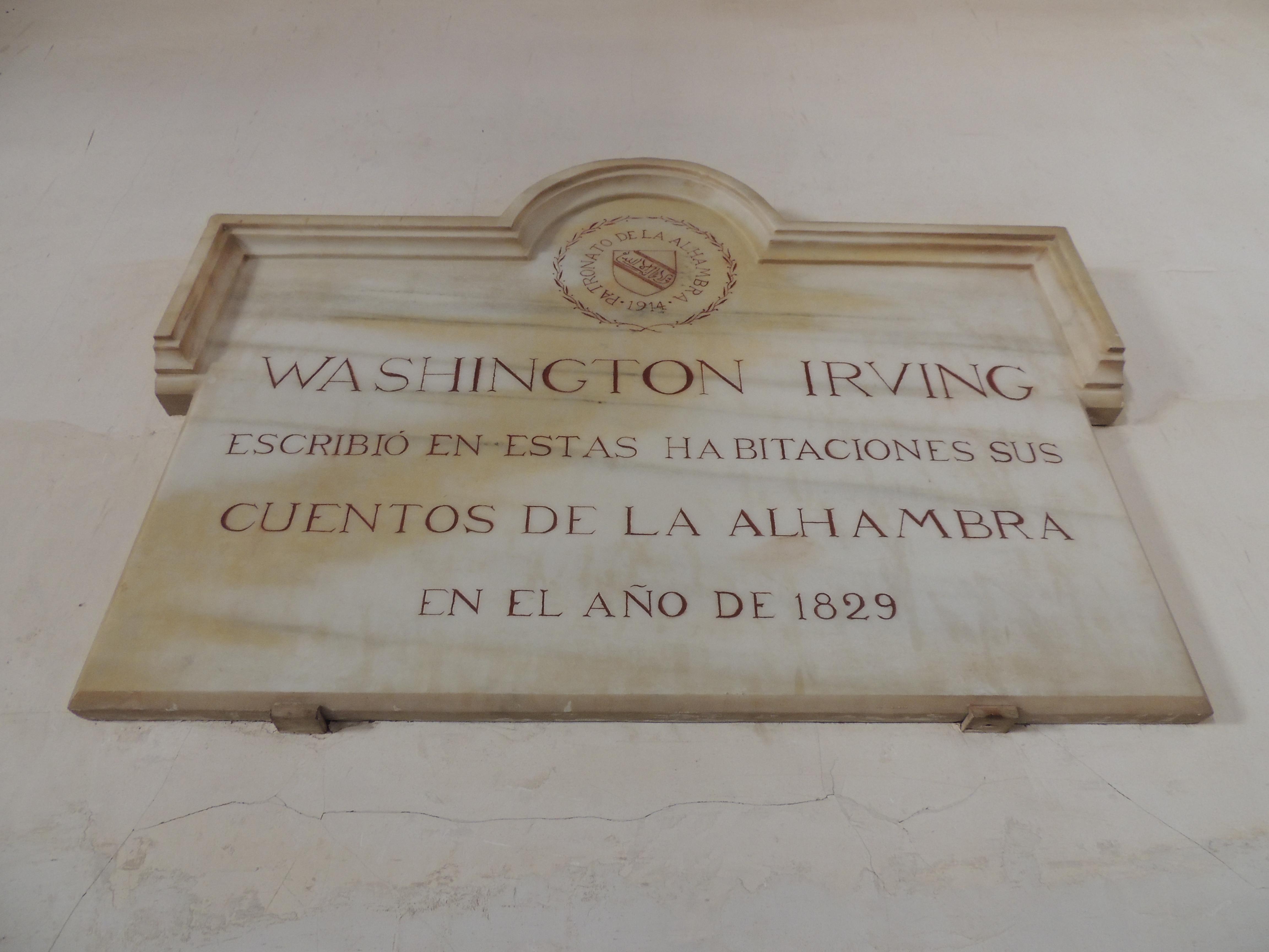Ruta de Washington Irving la Andalucía romántica