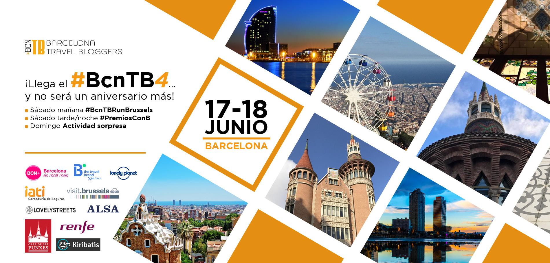 Programa del Cuarto Aniversario Barcelona Travel Bloggers