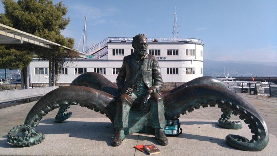 Julio Verne en Vigo