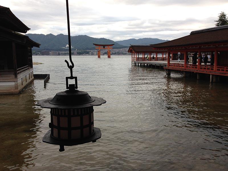 santuario itsukushima Miyajima