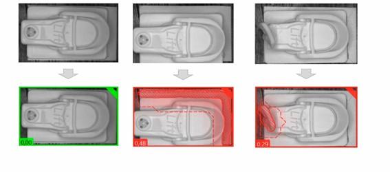 Inspección de productos lácteos envasados para control de tapones con tecnología de visión artificial y Deep Learning
