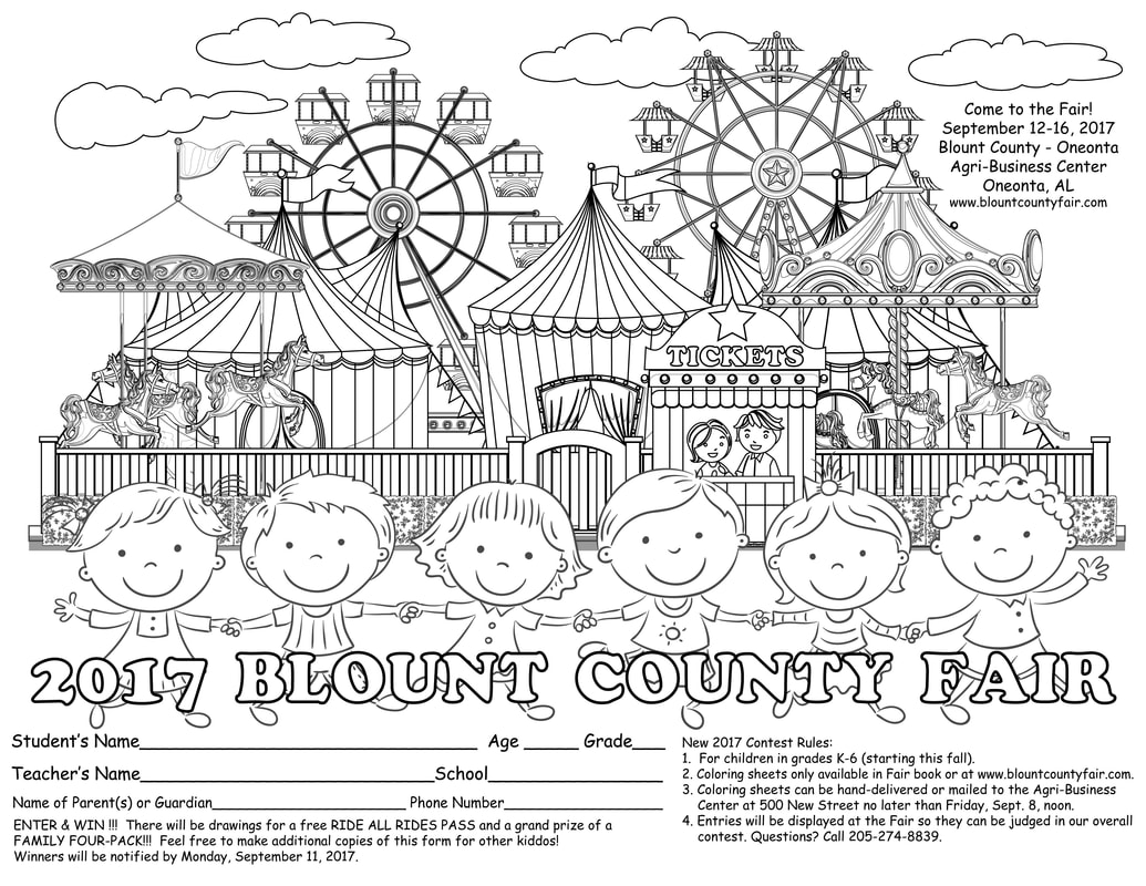 County Fair Coloring Pictures