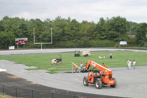 The improved Moore Cadillac Stadium