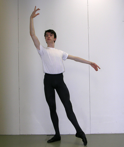 """WINNER OF A SCHOLARSHIP named for the late Princess Grace of Monaco, Northern Virginia's 17-year-old John Mark Giragosian will apply to award to attend the Maryland Youth Ballet. This December, for the third straight year, he will be performing the role of Cavalier in the Youth Ballet's production of """"The Nutcracker."""""""