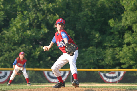 Anthony Wagner of the 10-11 Year-Old F.C. Al-Stars delivers a pitch Monday  (Photo: News-Press)
