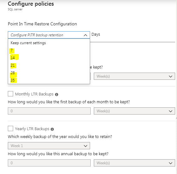 BetterConcepts Backup & Restore in Azure SQL Database