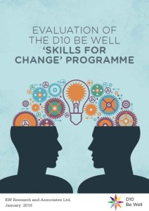 Evalution of skills for change front cover