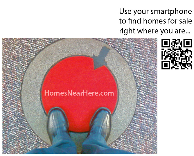 use your smarthpone iphone gps android blackberry to find MLS listings close to you