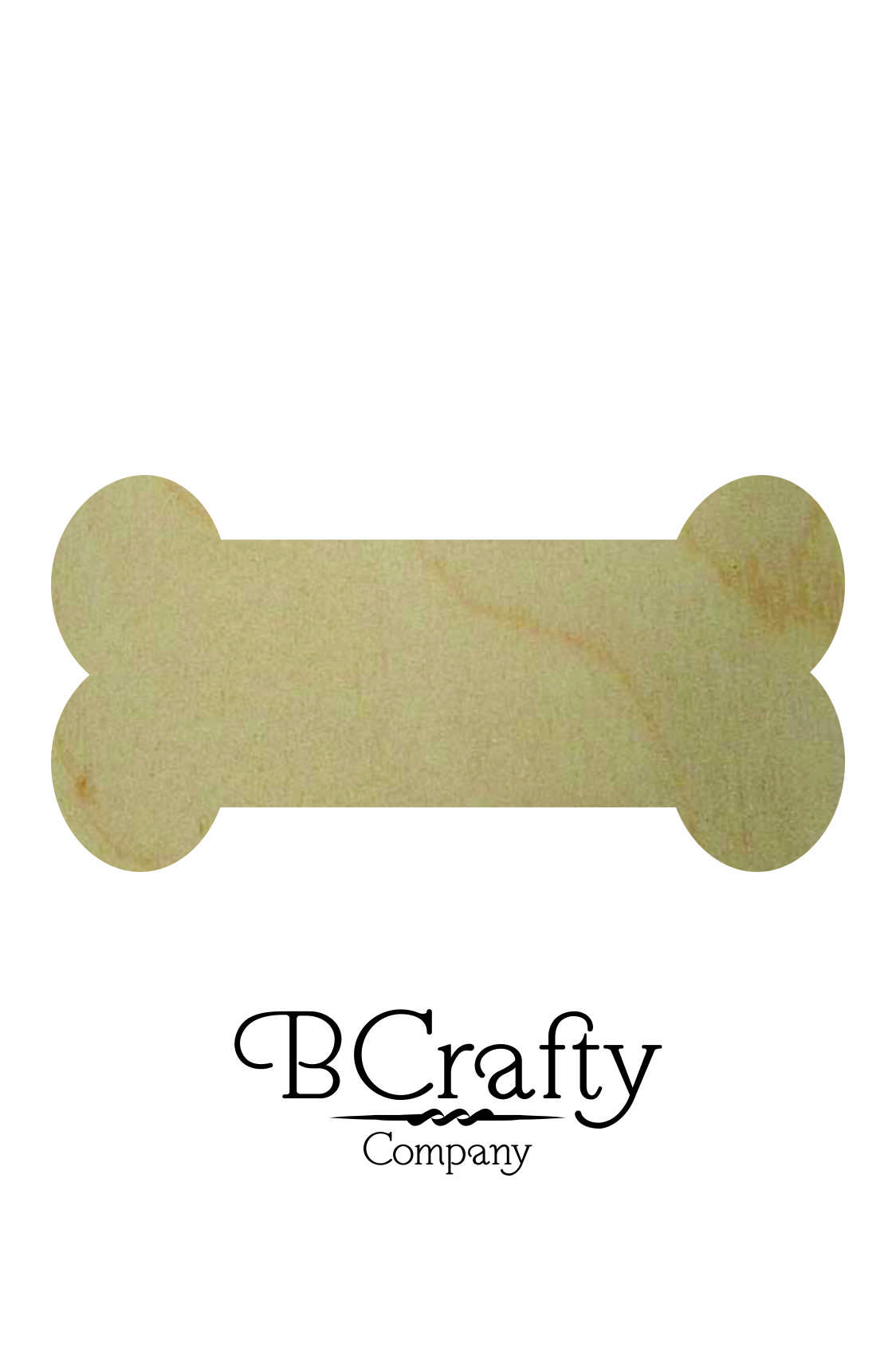 Wooden Bone Cutout Bcrafty Company