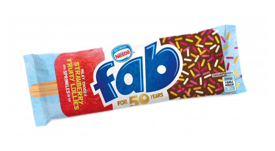 Image result for fab ice lolly