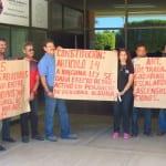 Emplazan maestros a Covarrubias a no armonizar Ley Estatal de Educación