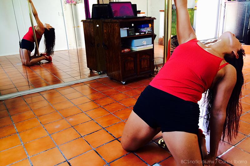 bailarina tubo paulina sosa