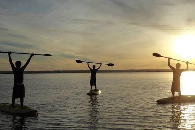 Mar de Cortés deporte kayak ejercicio 5