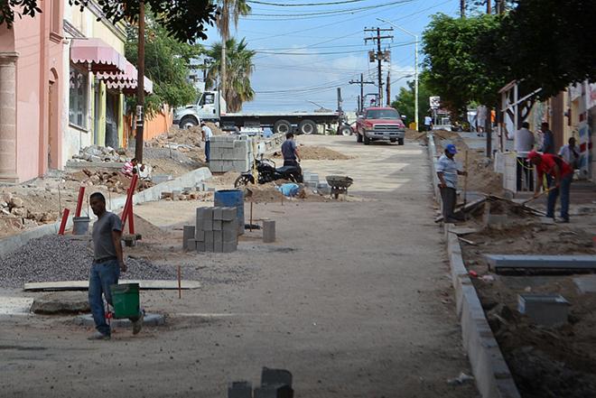 Construccion calle Belisario Dominguez