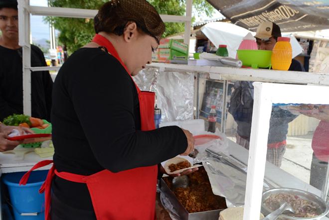 Taco comida Taqueria Don Pedro 5