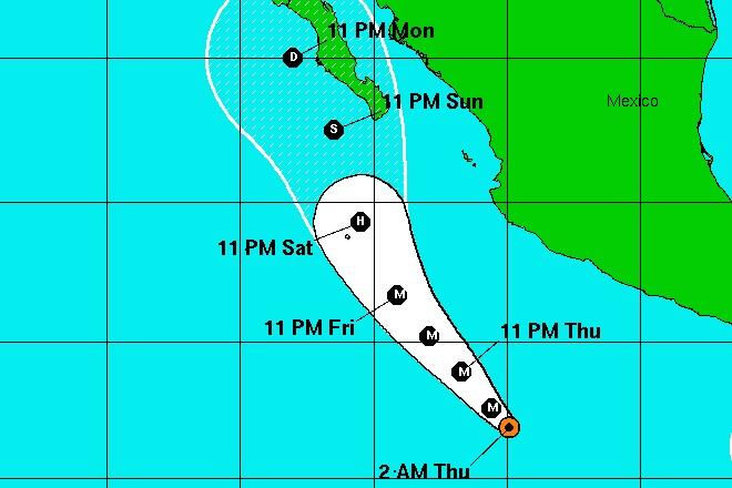huracan blanca trayectoria