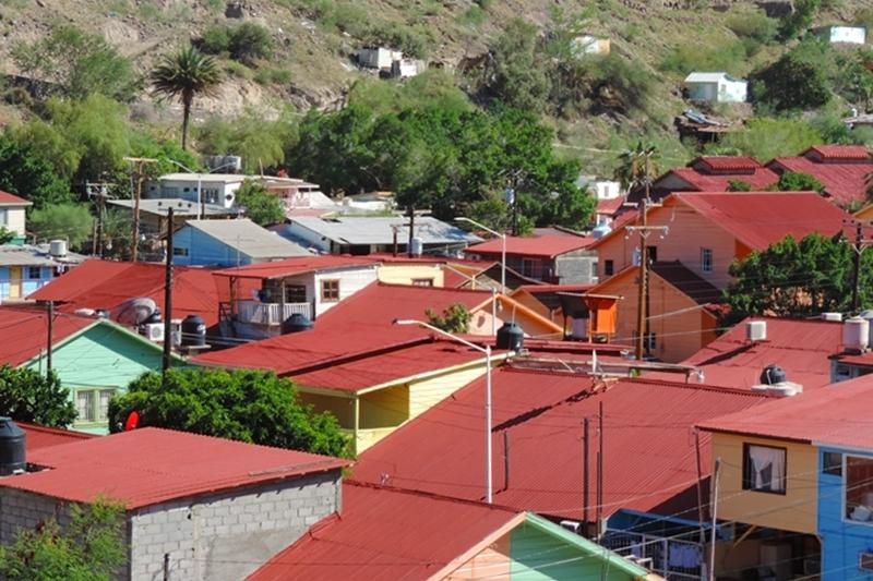 Techos Centro Santa Rosalía
