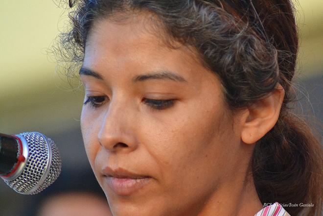 manifestacion tejero palacio de gobierno claudia gutierrez