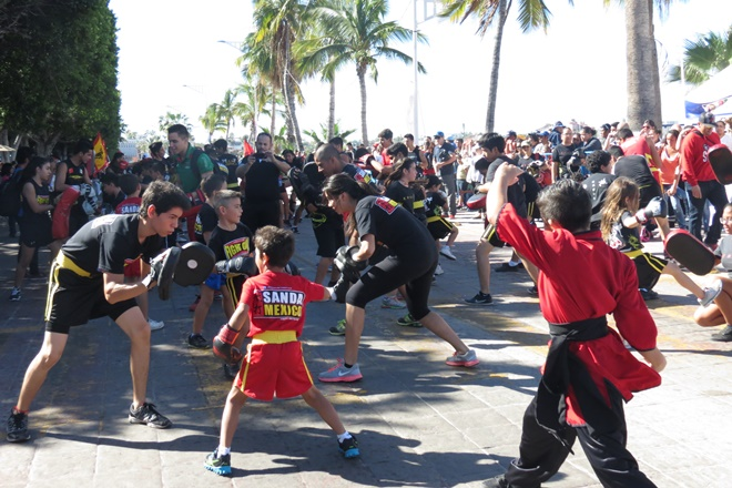 desfile tae kwan