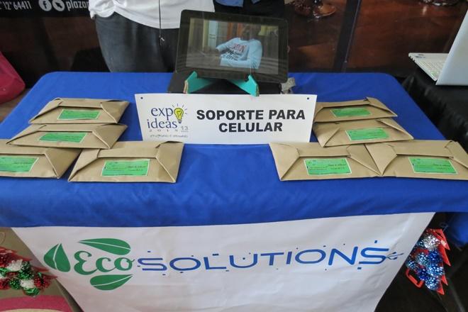 expo ideas soporte celular