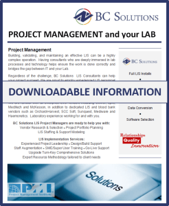 Project Management and Your Laboratory