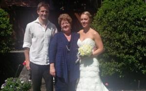 Catherine McColl Wedding Pic 1