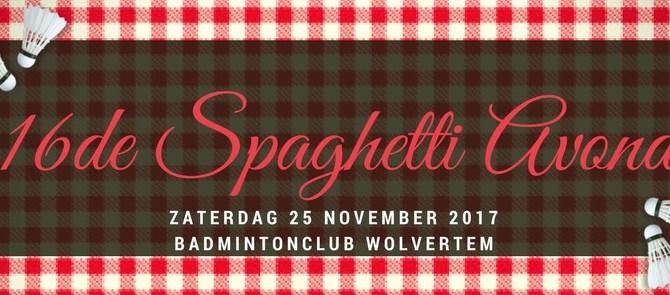 16de Spaghetti Avond