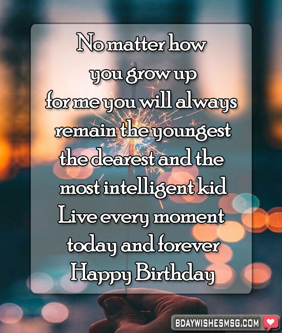 Best Happy Birthday Wishes For Kids Bday Wishes Msg