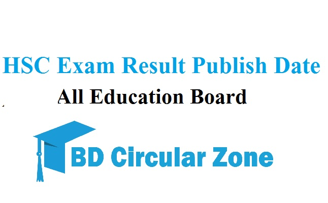 HSC Exam Result Publish Date 2019 Bangladesh