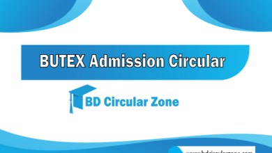 BUTEX) Admission Circular 2019-20