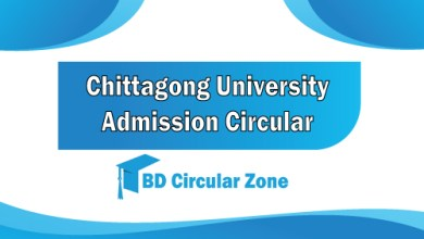 Chittagong University Admission Test Circular 2019-20