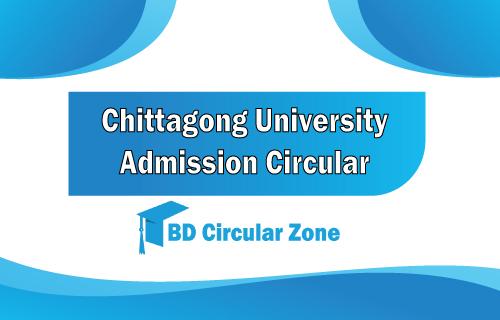 ChittagongUniversityAdmission Test Circular 2019-20