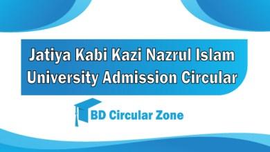 JKKNIU Admission Circular 2019-20