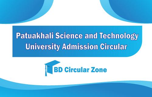 pust admission circular 2019-20