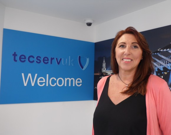 Sarah Smithusrt MBE is Joining Tecserv UK