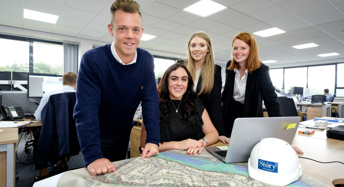 Story Homes Takes on New Graduates and Apprentices
