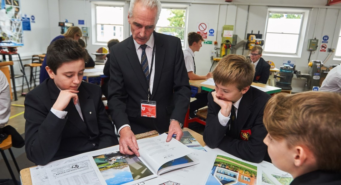 Countryside Gives Talks to Students for UK Construction Week