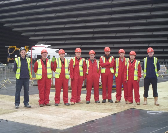 Eight Redundant Electricians Hired on V&A Dundee