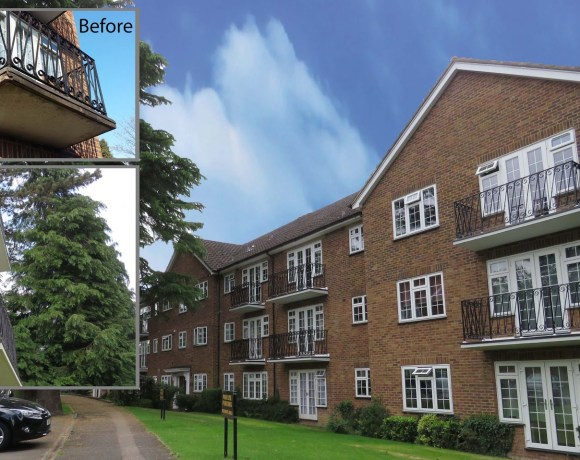 Saint-Gobain Weber Products Used to Complete Balcony Reapirs