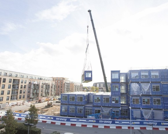 McAvoy Installs Offsite Manufactured Modules at Site in Romford