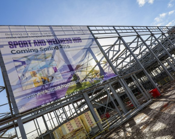 A NEW multi-million pound Sports Hub at the University of Warwick is one step closer to completion