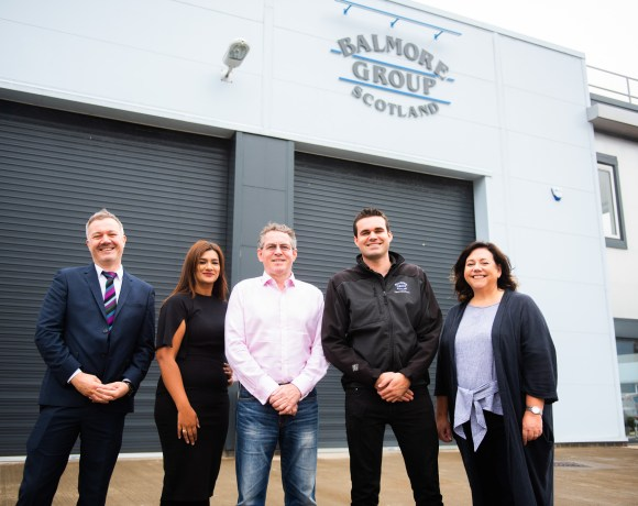 Riverside Inverclyde (Ri), the organisation delivering the economic redevelopment of Inverclyde in the west of Scotland, has welcomed another new tenant, Balmore Group, to its Kelburn Business Park development in Port Glasgow.