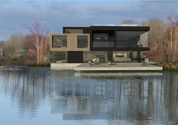 Boon Brown Architecture to Begin Construction of Lake House