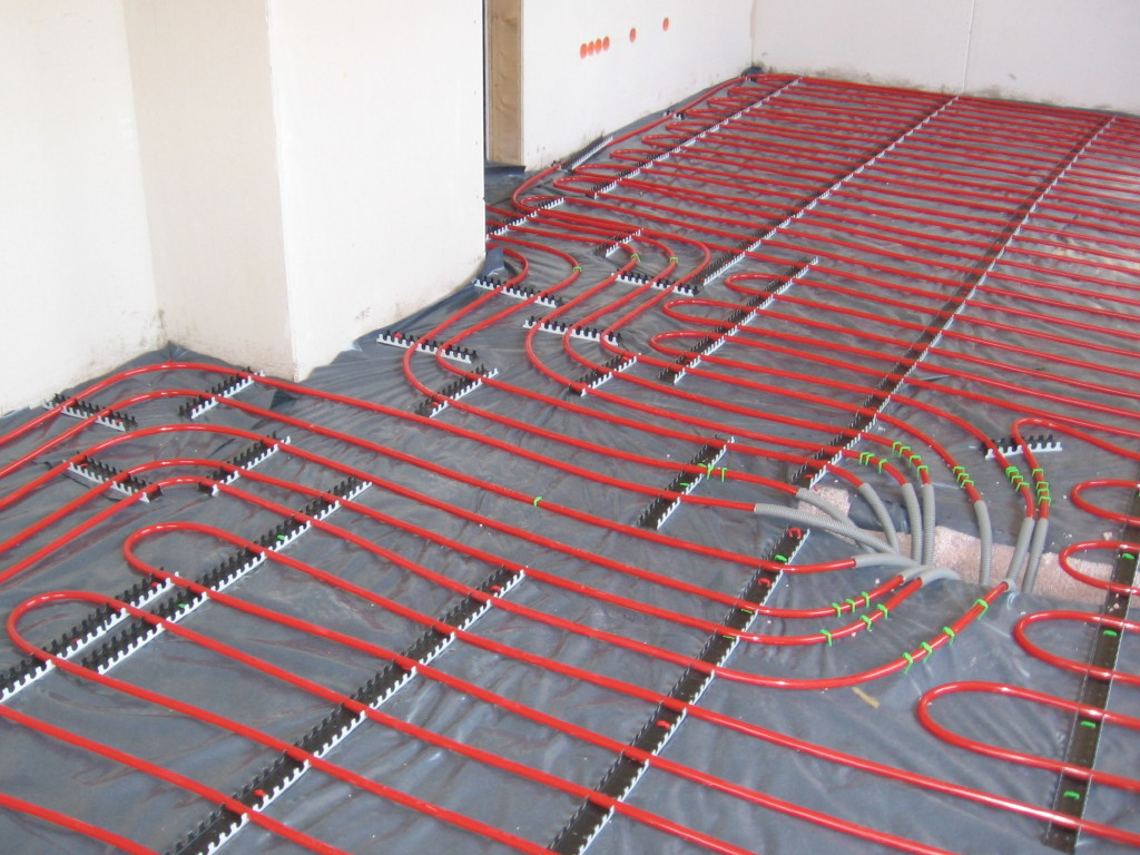 Underfloor Heating Cheaper Than Traditional Radiators
