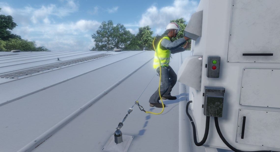 MSA Safety is spearheading the use of virtual reality (VR) in the safety market, enabling customers to experience its products in a truly immersive environment, without actual exposure to the potentially life-threatening hazards faced by people working at height.