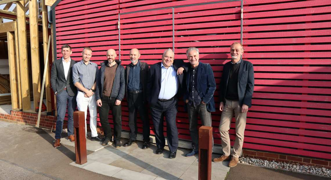 KLH Architects and Poole & Pattle celebrating the merger