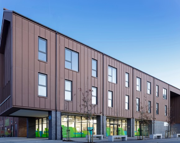 Designed by leading UK architecture firm PRP on behalf of Trafford Housing Trust (THT), Limelight is a pioneering community health and wellbeing hub in the heart of Old Trafford.