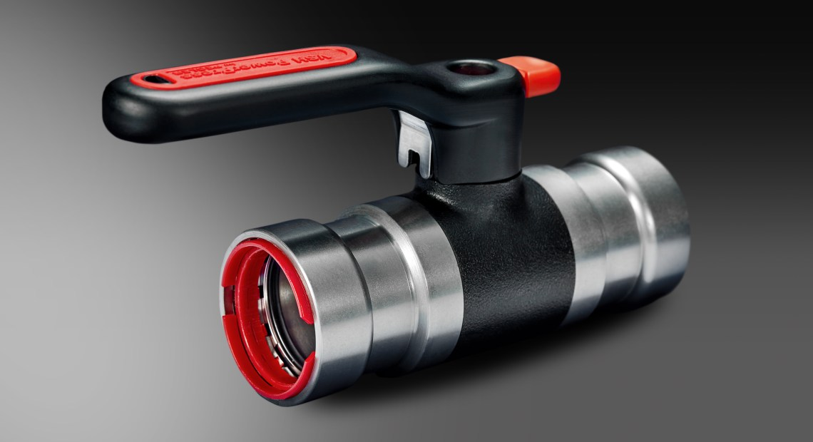 Streamlined Solution Incorporates Valve and Fitting in One Product